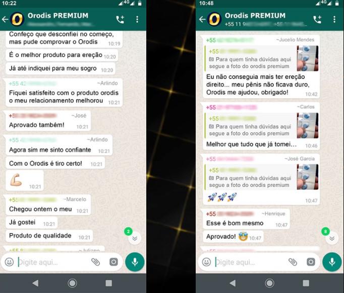 Orodis Premium resultados